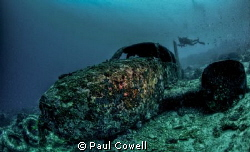 Tambuli Wreck in mactan, cebu by Paul Cowell 